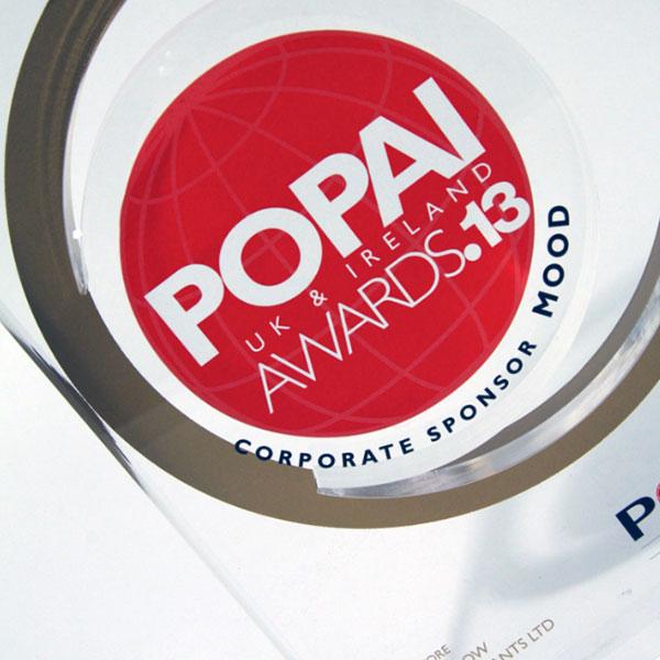 Popai Award Efx Bespoke Awards And Trophies