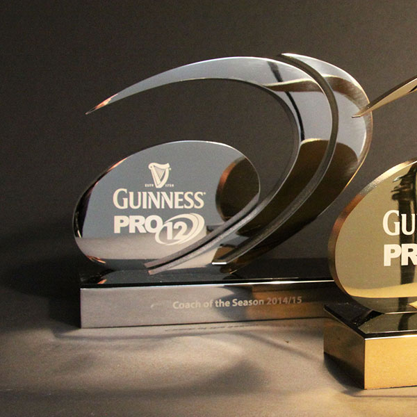Guinness Pro12: EFX Bespoke Awards And Trophies