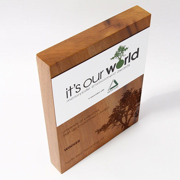 Wooden Awards And Trophies Manufactured From Sustainable