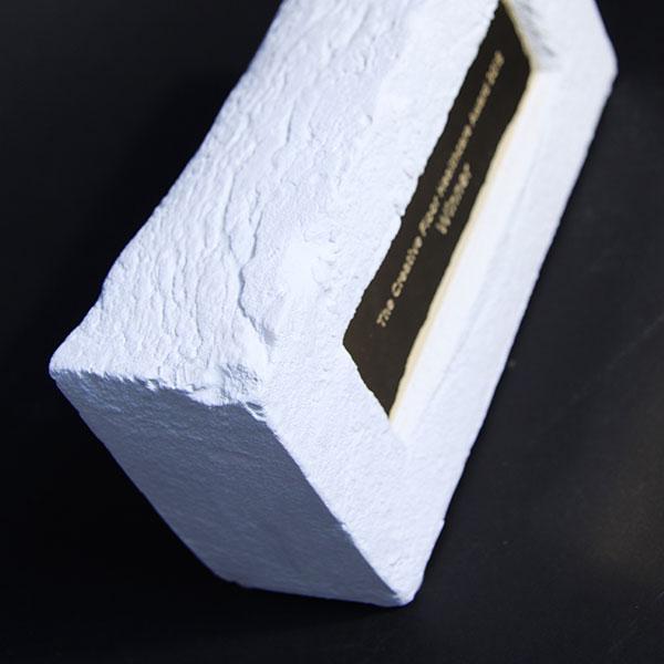 Creative Floor Brick Award Efx Bespoke Awards And Trophies