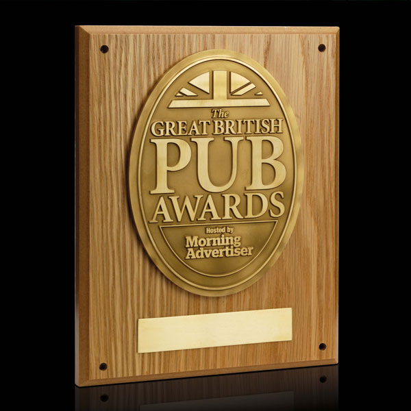 Great British Pub Plaque Efx Bespoke Awards And Trophies