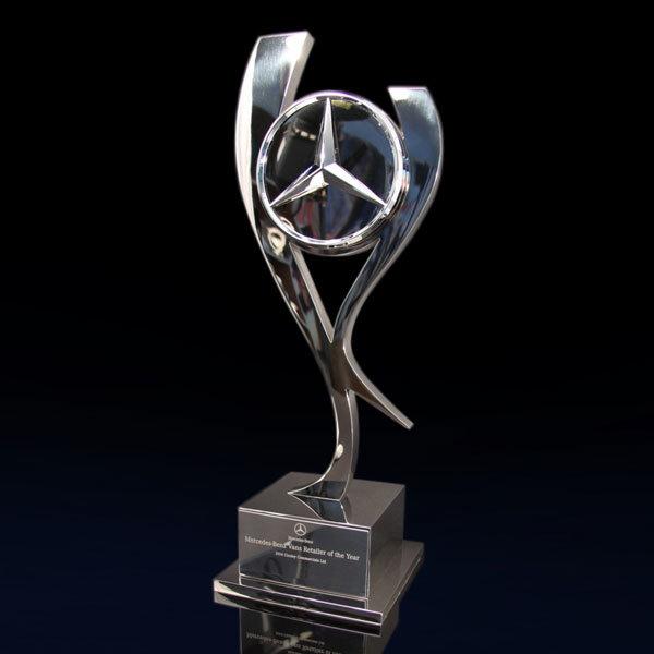 Mercedes Benz Award Efx Bespoke Awards And Trophies