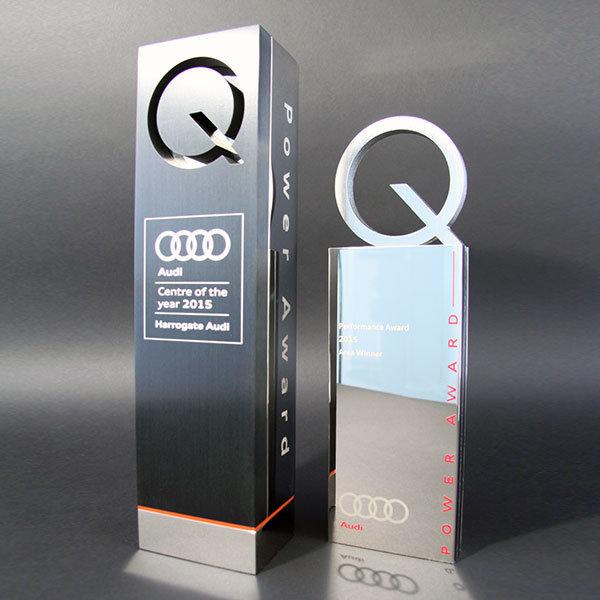 Audi Q Award Efx Bespoke Awards And Trophies