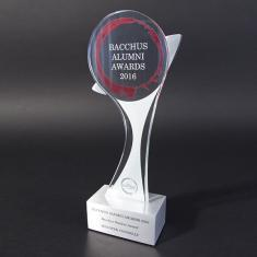 Bacchus- Glass Trophy