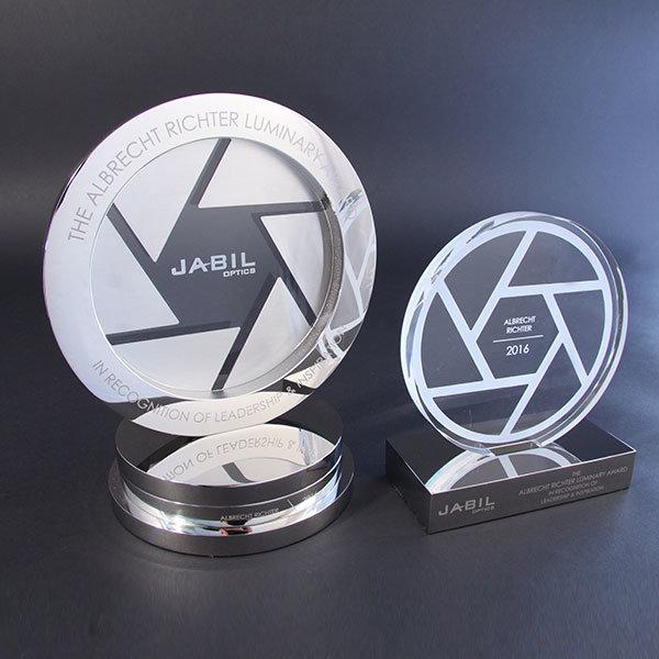 Jabil Optics Award Efx Bespoke Awards And Trophies