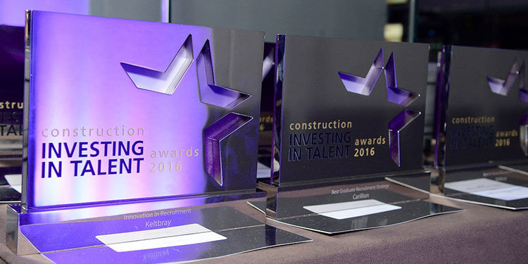Building A Brighter Future With New Construction Awards Efx Bespoke Awards And Trophies