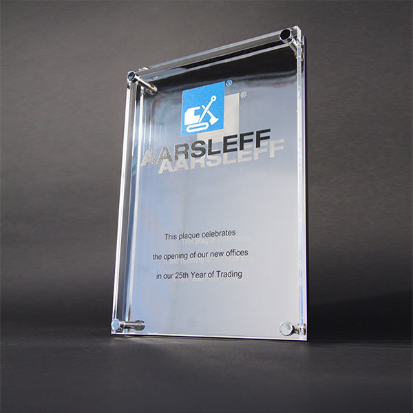 Bespoke Wall Plaques Manufactured From Metal Acrylics Or Wood