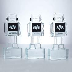 AIM Robot - Custom Glass Awards