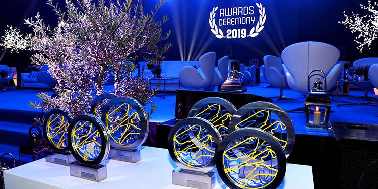 Le mans Cup Circuit Trophies by EFX Trophy Maker